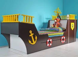 Pirate Ship Toddler Bed Pirate Ship Bed Childrens Davy Boat Bed With Storage And Play