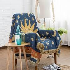 plaid coton canapé plaid soleil couverture coton canapé coussin serviette sofa 130