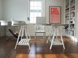 ikea office hack ikea desk hack for a modern home office with a ceiling fan and