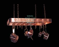 Kitchen Island Pot Rack Lighting Copper Pot Rackview Cad Drawing U2013 Rutland Gutter Supply