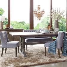 Kitchen Dining Furniture by Whitewashed Farmhouse Table For Coffee