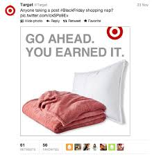 does target do black friday how the big box retailers graded out for social media on black