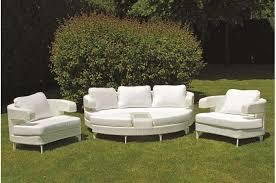 canape resine exterieur canape en resine exterieur 6 salon de jardin blanc en r233sine salon