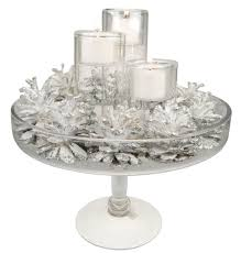 reversible glass tealight candle holder h 8