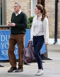 kate middleton walked with a friend through london kate