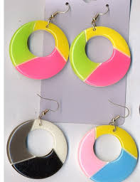 80s earrings fashion style earrings
