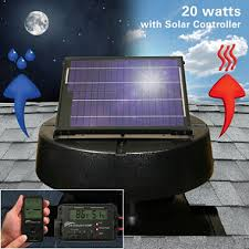 u s sunlight 20 watt solar attic fan by air vent inc with solar