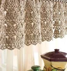 Kitchen Curtain Patterns 24 Simple Looking Patterns For Crochet Curtains Patterns Hub