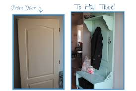 Hall Tree How To Make A Hall Tree From A Door Pennywise Cook