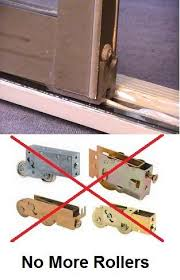 How To Fix A Patio Door Sliding Door Repair Door Track Glassdoor Roller