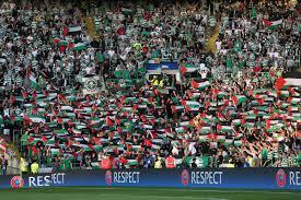 Flag Of Pakistan Pics Celtic Fans Fly Palestinian Flags Against Israeli Team As European