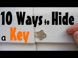 10 places to hide a spare key 10 steps with pictures