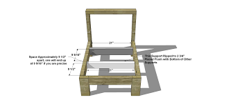 Outdoor Wood Sectional Furniture Plans by How To Build A Sofa Frame 18 With How To Build A Sofa Frame