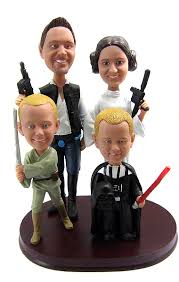 blended family wedding cake toppers bobblegram