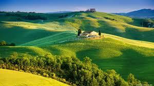 rolling green tuscany italy wallpaper wallpaper studio