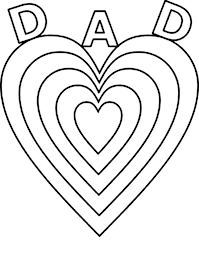 happy birthday papa coloring pages fathers u0027 day big love for daddy on fathers day coloring page
