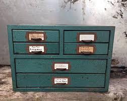 Drawer Storage Cabinet Drawers Etsy