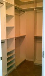Closet Design For Small Bedrooms by Very Well Organized Walk In Closet With White Cabinets And Storage