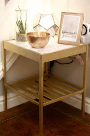 End Table With Charging Station by Best 25 Bedside Table Ikea Ideas On Pinterest Ikea Side Table
