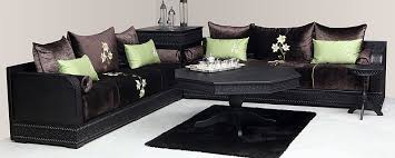 salon marocain canapé canapé design moderne et fauteuil pour salon marocain salon deco