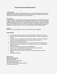 Customer Service Example Resume by Sample Cover Letter For Customer Service Representative