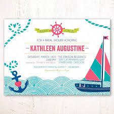 Nautical Bridal Shower Invitations Nautical Themed Bridal Shower Ideas Trueblu Bridesmaid