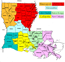 Louisiana State Map by Maps Of Usa All Free Usa Maps
