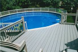 9 best above ground pool deck ideas on a budget walls interiors