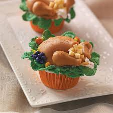 turkey dinner cupcakes recipe thanksgiving dinners and recipes