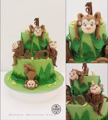 kids jungle theme cake ideas partyfide