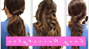 easy hairstyles for medium curly hair step by step hairstyle step