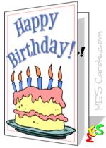 free birthday cards to print birthday cards