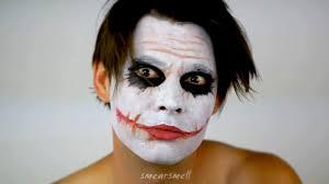 halloween scar makeup the joker dark knight makeup tutorial youtube