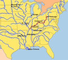 ohio river valley map the ohio river valley the and indian war