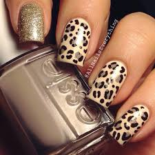 Nail Designs Cheetah Beautiful Photo Nail 32 Leopard Print Nail Designs Nails