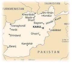 kabul map afghanistan map