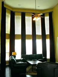 High Window Curtains Window Covering Ideas For High Windows Curtains For High Windows