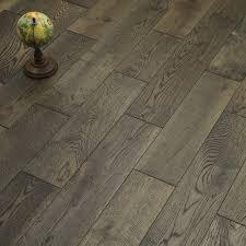 aged cottage oak brushed lacquered engineered wood flooring