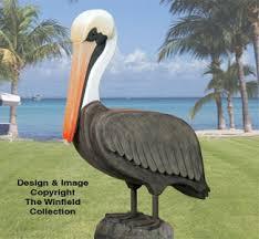 3d bird woodcraft patterns 3d size pelican wood pattern