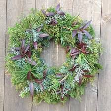 madebymen or otherwise broken arrow holiday wreaths are