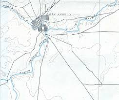 map of san angelo porter henderson library government documents maps and