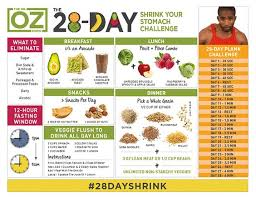 here is the eagerly anticipated dr oz 28 day shrink your stomach