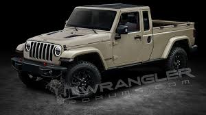 new jeep concept 2018 2019 jeep wrangler pickup predictably rendered