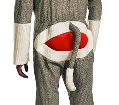 sock monkey costume sock monkey costume xl clothing