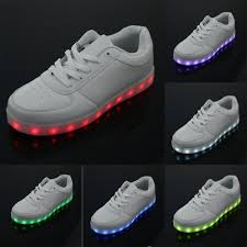 light up shoes charger brand led light up shoes lovers men fashion led sneakers usb charger