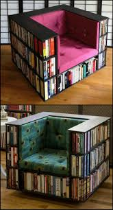 Diy Armchair How To Build A Biblio Chair Diy Bookcases Diy Furniture And