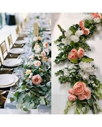 wedding backdrop flowers amazing deal on wedding garland eucalyptus garland backdrop