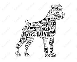 boxer dog jigsaw puzzles boxer energetic and funny dog silhouette dog and boxer dog rescue