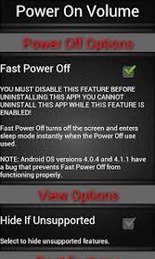 power apk free power on volume button fix apk android apk