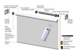 Auto Roller Blinds Sunscreen Adjustablechain Diy Auto Roller Blinds Price Width Buy